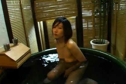 Nami Ishii Hot Japanese milf enjoys lots of cock