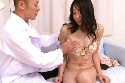 Junko Izawa Sweet Asian milf spreads her legs