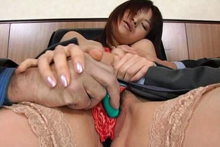Juri Matsuzaka Japanese milf in a hot gangbang