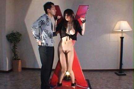 Juri Matsuzaka Hot Asian model spreads her legs for a fuck