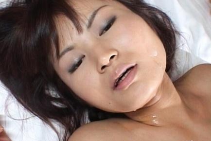 Juri Matsuzaka Hot Asian milf spreads her legs for a fuck