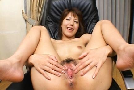 Arika Takarano Asian doll gets a hot creampie