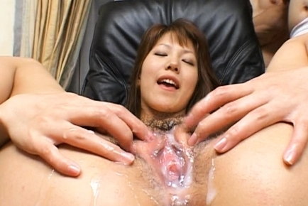 Arika Takarano Asian doll gets a hot creampie