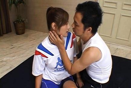 Azusa Ayano Asian milf gets a massive creampie