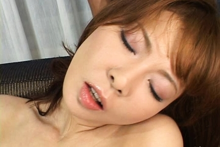 Ryo Hirase Asian milf spreads her legs