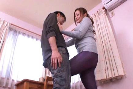 Emi Harukaze Lovely Japanese wife is a horny babe