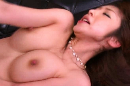 Mika Kayama Asian beauty is a young pretty wife