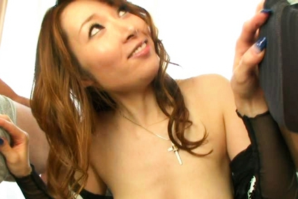 Kou Minefuji Asian model is a kinky Asian milf