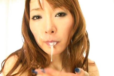 Kou Minefuji Asian model is a kinky Asian milf