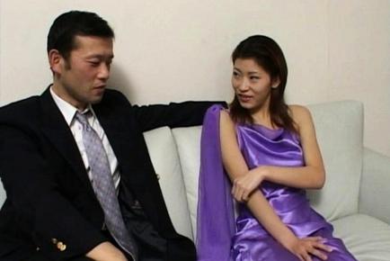 Ichiya Kazumi Cute Asian milf gets plenty of sex