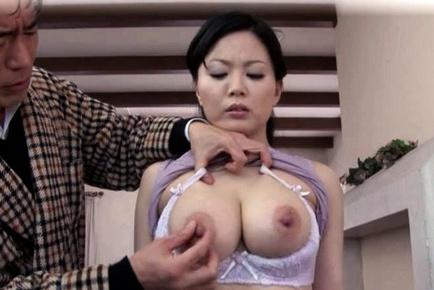 Miki Sato Pretty Asian maid has sexy tits