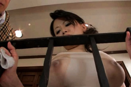 Miki Sato Asian model is sexy and big boobed