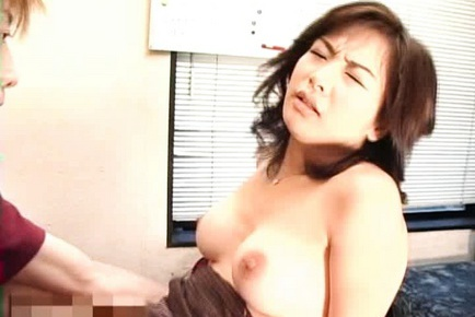 Naughty Asian mother in law has fun with younger guy