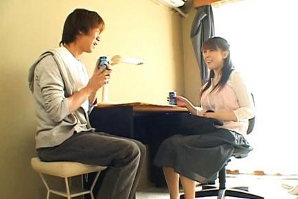 Harumi Nishimoto Japanese MILF has hot sex