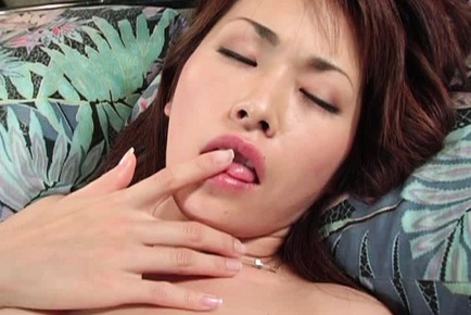 Jun Nada Asian model is kinky