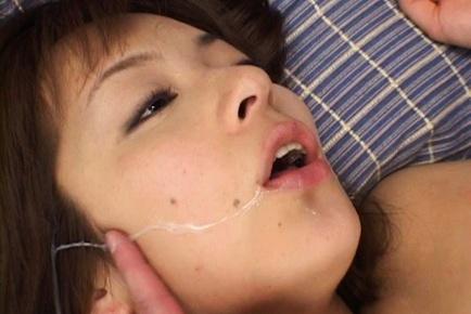 Akane Mochida Hot Japanese babe has hard sex