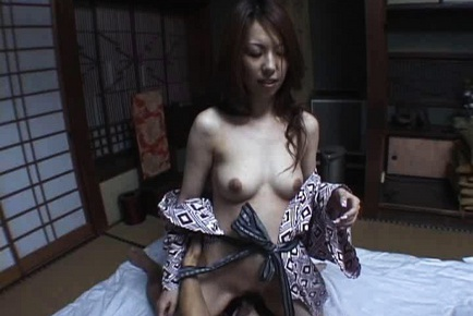 Lovely Tomoe Hinatsu receives facial cumshot
