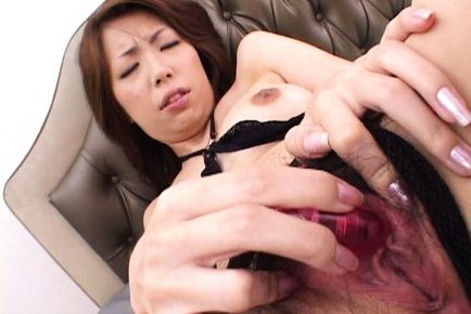 Tomoe hinatsu enjoys vibrator - 1 part 8