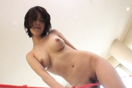 Super fresh hot looking big tits babe tied up!