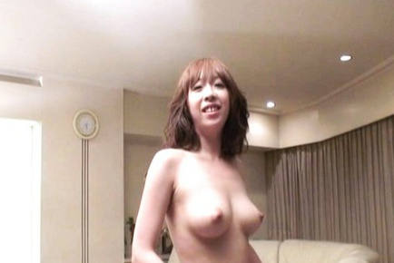 Really hot milf with big tits gets pussy stimulation