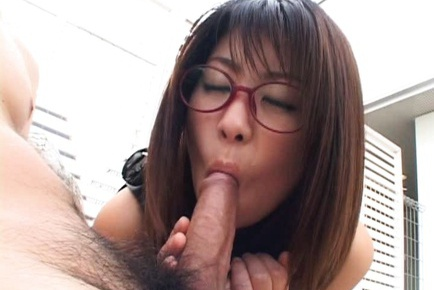 Cute babe Mimi Kousaka receives facial cumshot