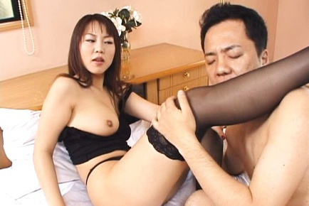 Rei Himekawa Asian model has hot sex