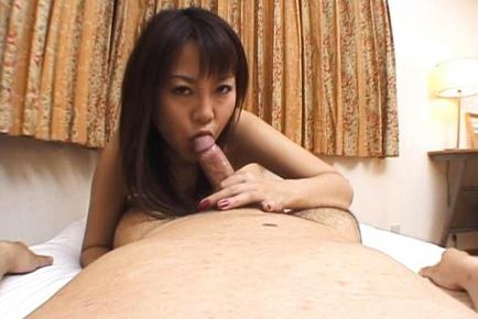 Busty hot milf Rei Himekawa in hardcore action