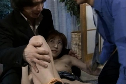 Sexy MILF Yuu Nanami Makes Two Guys Cum From Sex