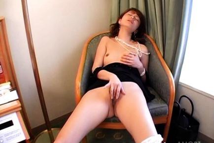 Mai Satsuki is a sweet Asian MILF