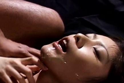 Riko Tachibana hot lesbian spanking action