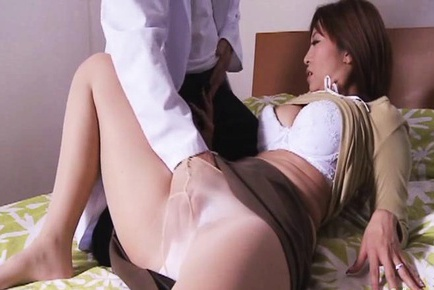 Kaori with hot behind and big assets has hair 8