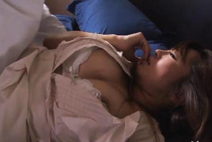 Beautiful boobs Kaori hot lusty hard fucking