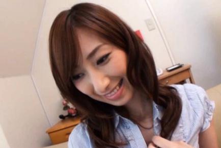 Kaori Nishio lovely Asian model in lingerie ready for sweet sex
