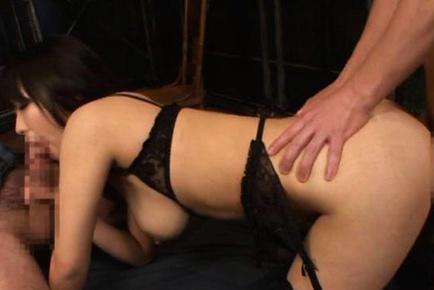 Wild Yui Tanaka kinky Japanese milf lingerie sex
