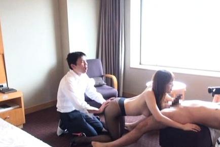 Kinky japanese doll Risa Arisawa loves having hardcore sex