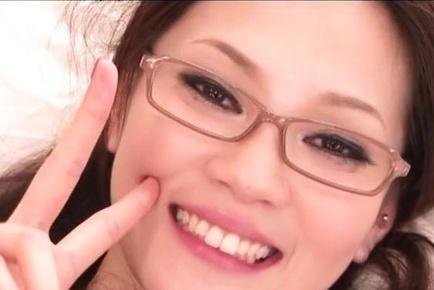 Leggy Japanese teacher Ameri Ichinose fucked hard by a horny guy